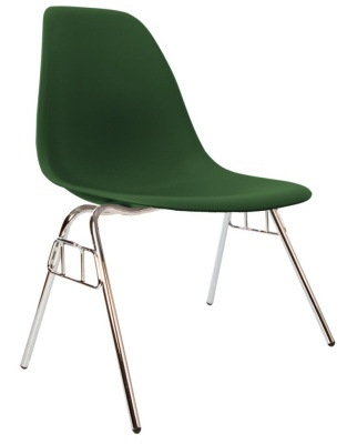 Eames Dss Chair In Emerald Angle View