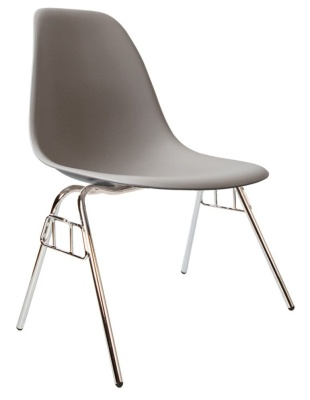 Eames Inspired Dss Chair Cool Grey