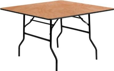 Wooden Square Folding Table