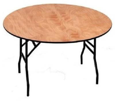Swift Round 4 Foot Folding Table
