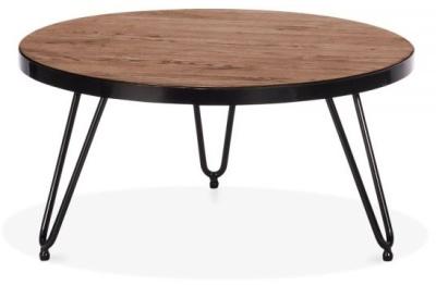 Hairpin Walnut Coffee Table 2