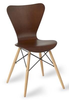 Keeler Contemp Chair Wenge Shell