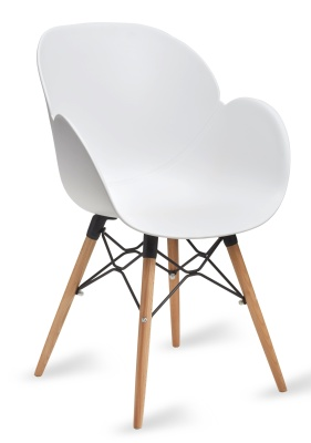 Mackie Armchair In White