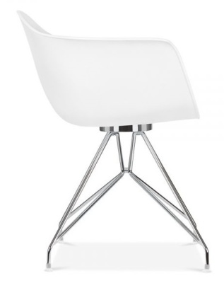 Memot Designe Rchairi White Side View