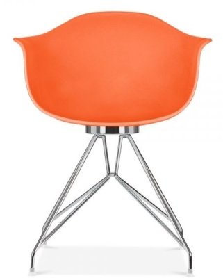 Memot Chair In Orange Front Videw