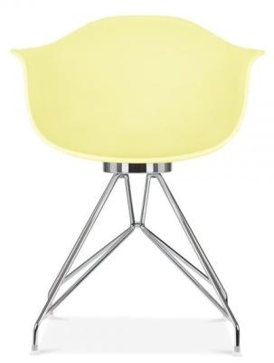 Memot Chair In Lemon Front