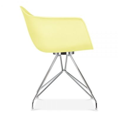 Memot Chair In Lemon Side View