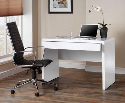 Exile White Office Desk 2