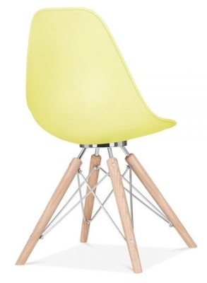 Acona Chair In Lemon Rear Angle