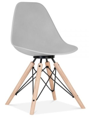 Antoona Chair In Grey Front Angle