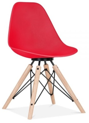 Antona Chair In Red Front Angle