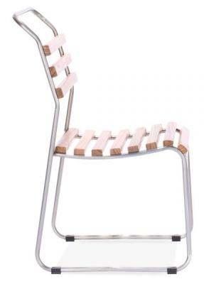 Bahaus Slat Chair Gunmetal Frame