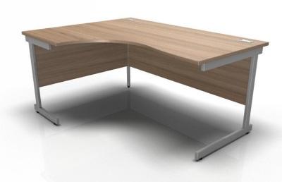 Stellar Left Hand Corner Desk Cantilever Frame