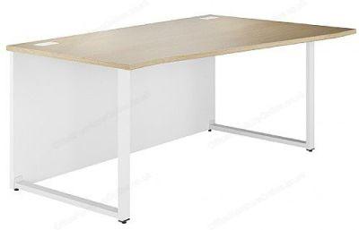 Dual Right Hnad Wave Desk In Oak