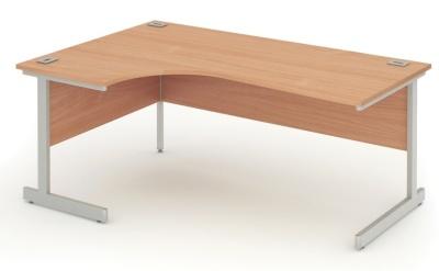 Abacus Express Left Hand Corner Desk