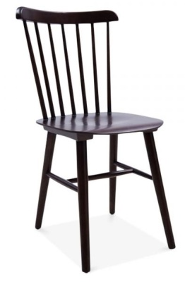 Buckingham Chair In Brown Front Angle