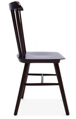 Buckingham Chair In Brown Side View