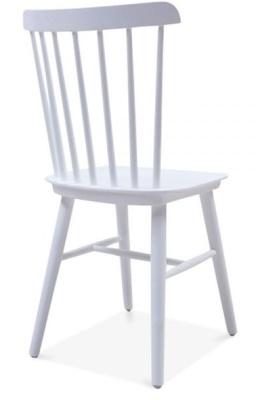 Buckingham Chair In Cool Grey Rear Angle