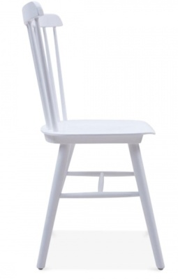 Buckingham Chair In Col Grey Side View