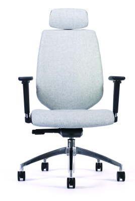 Pulse Ergonomic Task Chair Front View