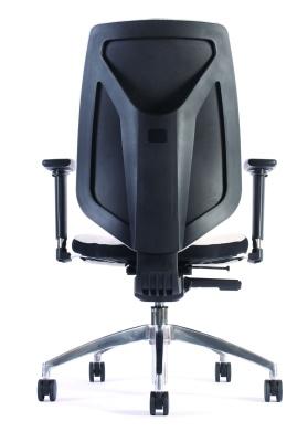 Pulse Ergonomic Task Chair Rear View
