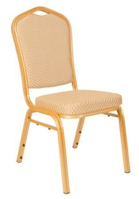 Mellbourbe Budget Banqueting Chair Gold And Gold