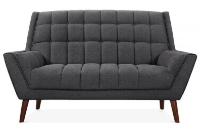 Cortina Sofa Dark Grey Facing Shot