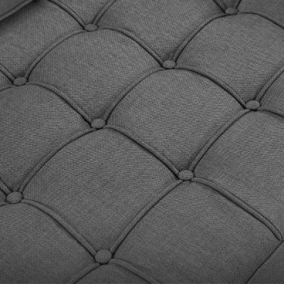 Gustav Dark Grey Fabric Detail