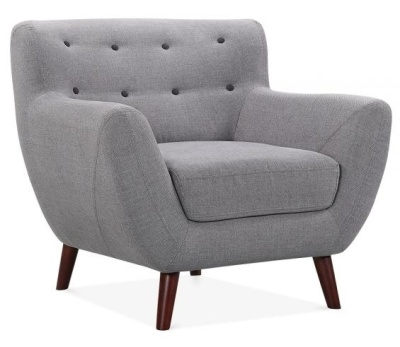 Emily Single Seater Armchair Angle View