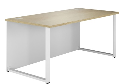 Dual Single Bench Desk