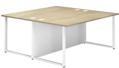 Dual Twin Bench Desk