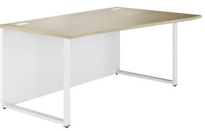 Dual Right Hand Wave Bench Desk