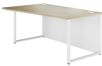 Dual Left Hand Wave Bench Desk
