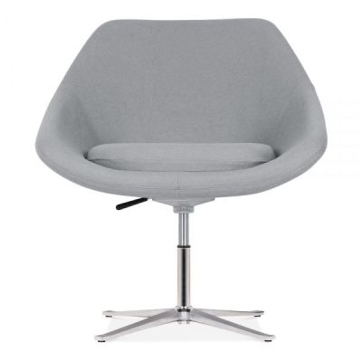 Maria Tub Chair In Cool Grey Front Face