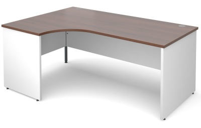 Duplex Left Hand Corner Desk
