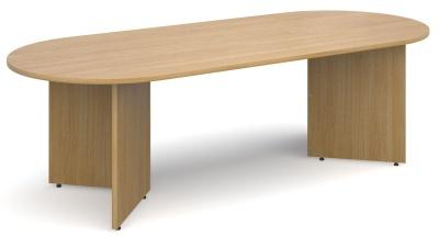 Dexter Oval Table Oak Finish