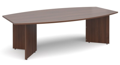Dexter Boat Sheped Table In Walnut