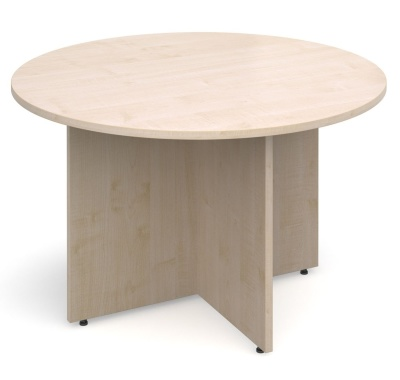 Dexter Round Table In Maple