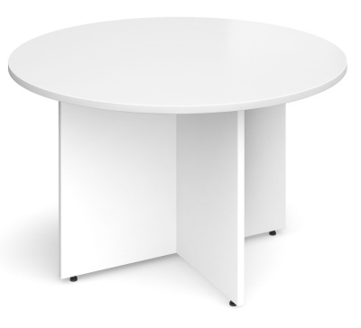 Dexter White Round Table