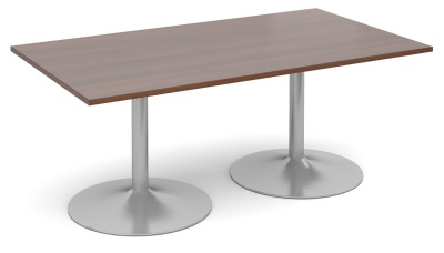 Tempest Rectangular Table Walnut Top