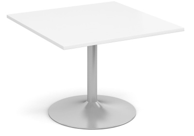 Tempest Square Modular Table With A White Top