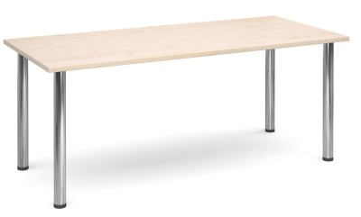 GM Deluxe Rectangular Table With A Maple Top