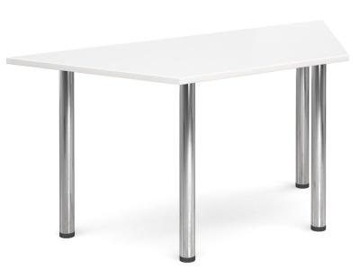 GM Deluxe Trapezoidal Table White Top