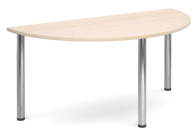GM Deluxe Half Moon Tables Maple Top
