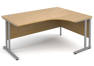 Momentum Next Day Right Hand Corner Desk With An Oak Top