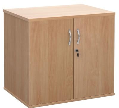 MOmentum Desk End Cupboard In Beech