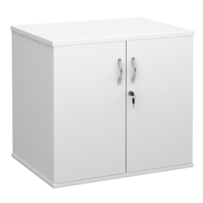 Momentum Desk Height Cupboard In White