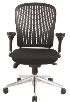 Elasto Chair Flexible Back Black Back