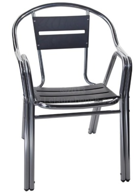 Villa Aluminium Chair Front View