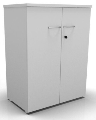 CO1 Storage- 2 Hinged Doors- White